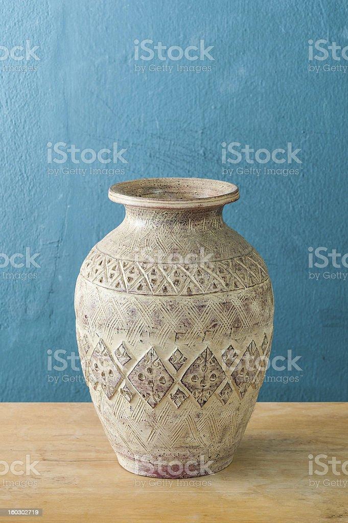 antique ceramic vase royalty-free stock photo
