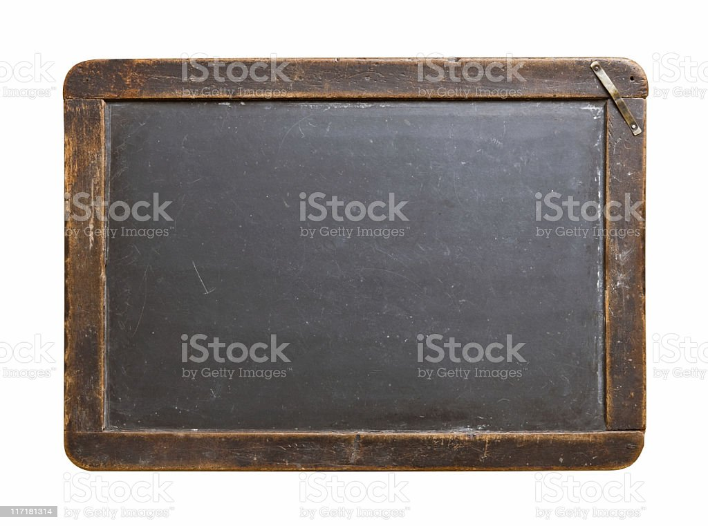 Antique Chalkboard royalty-free stock photo