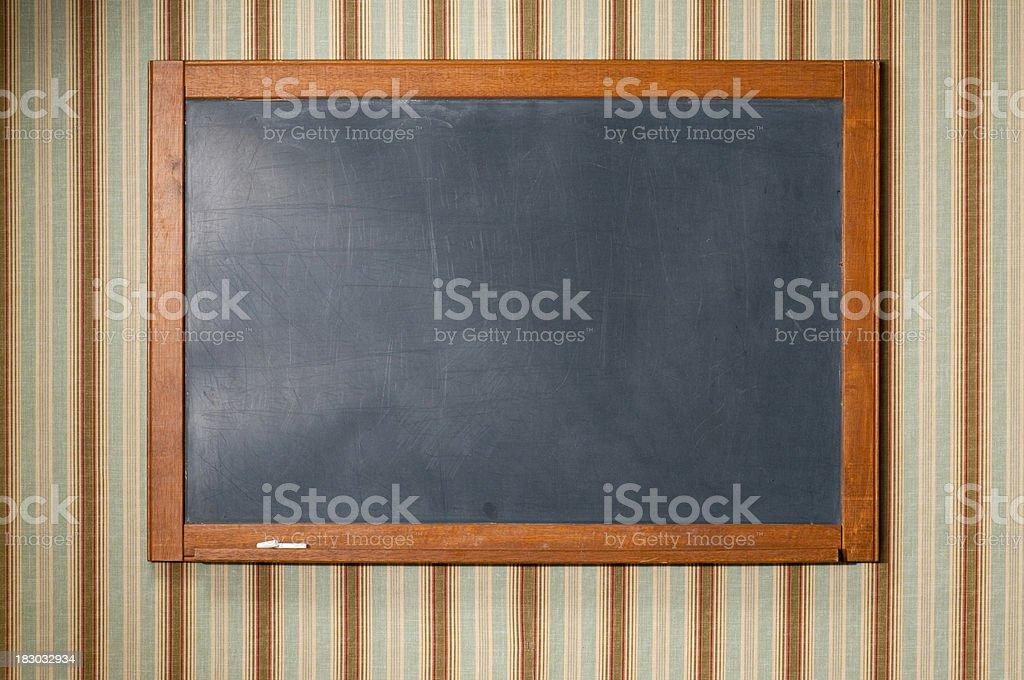 Antique Chalkboard royalty-free stock photo