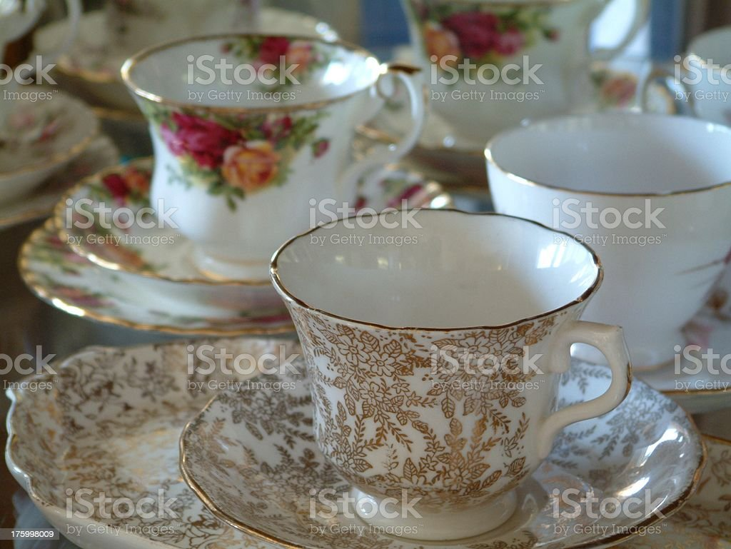 Antique China 1 royalty-free stock photo