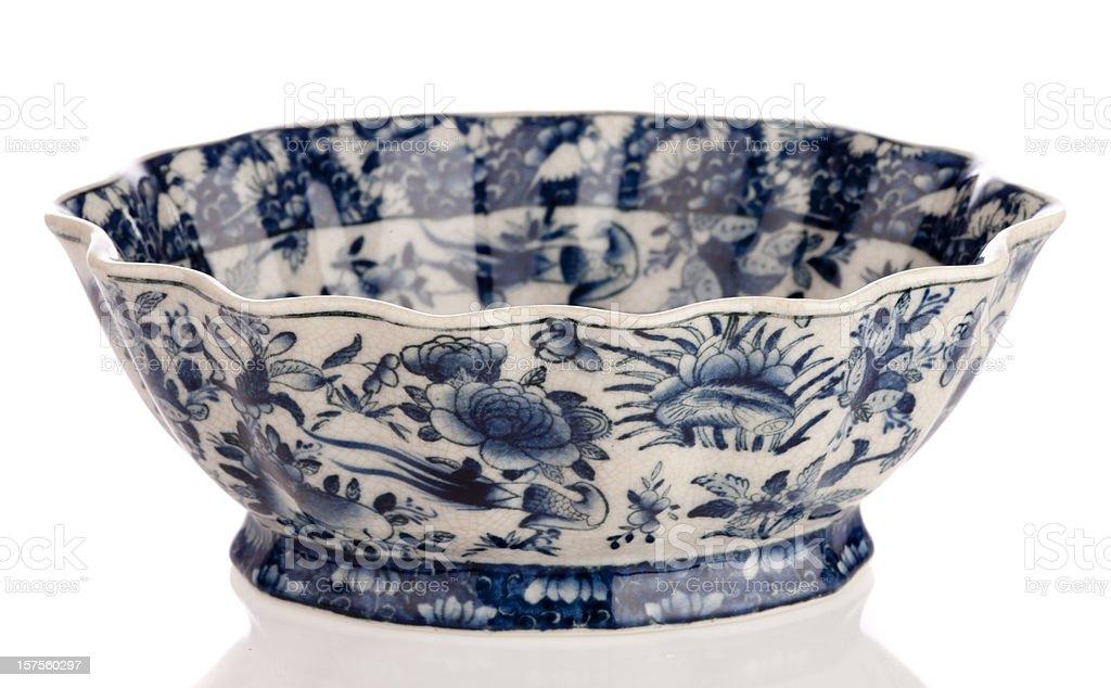 Antique china (England) royalty-free stock photo