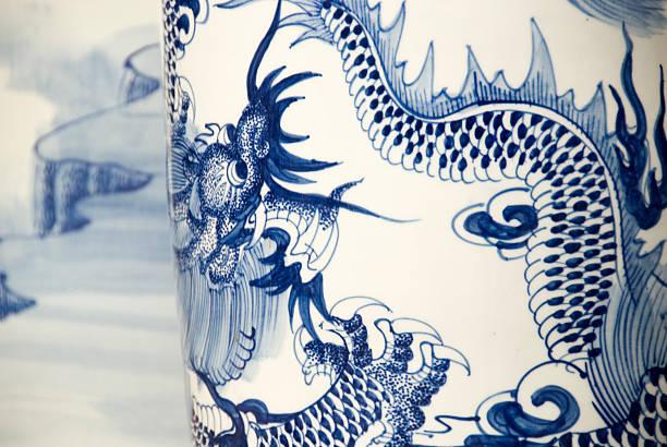 antike china - keramik vase stock-fotos und bilder