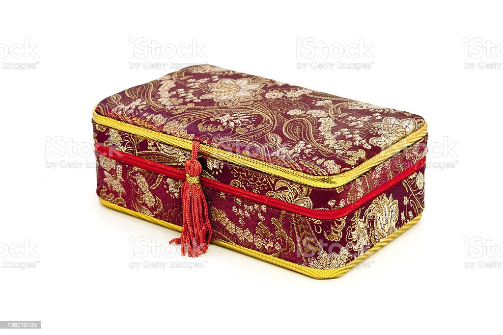 antique chinese box royalty-free stock photo