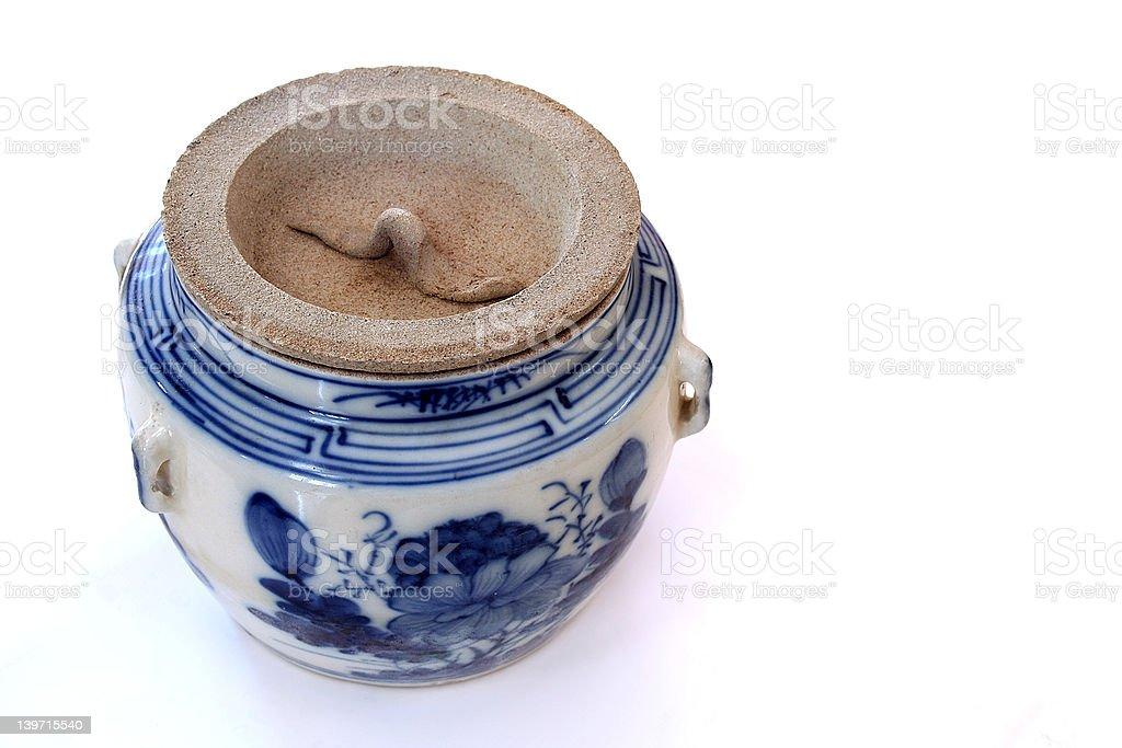Antique Chinese Porcelain royalty-free stock photo