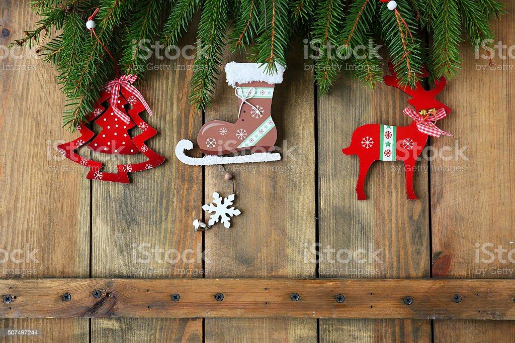 Natale Antico Immagini.Antico Di Natale E Decorazioni Su Stiro Fotografie Stock E Altre Immagini Di Abete