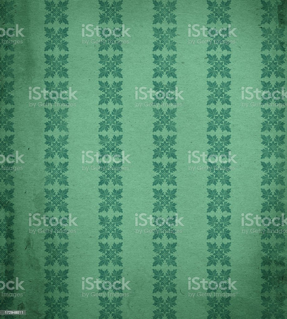 antique Christmas style paper with stains royalty-free stock photo