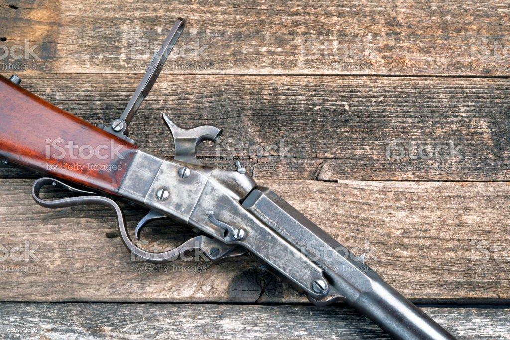 Antique Civil War Rifle Stock Photo - Download Image Now