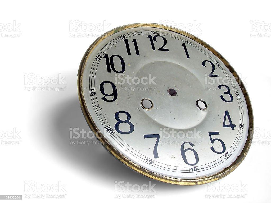 Antique Clockface stock photo