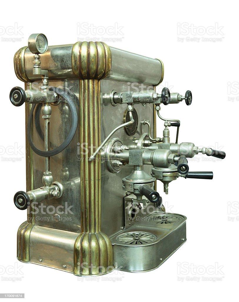 Antique Coffee Machine stock photo