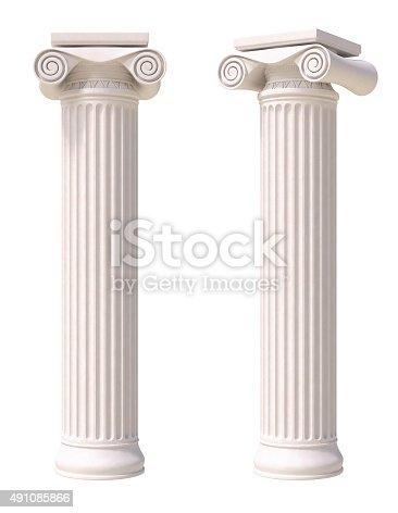 istock Antique columns 491085866