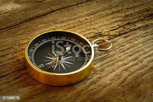 636605172istockphoto Antique Compass On wood table 471059176