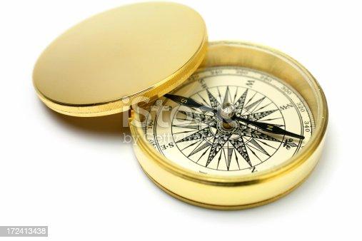 istock Antique Compass 172413438