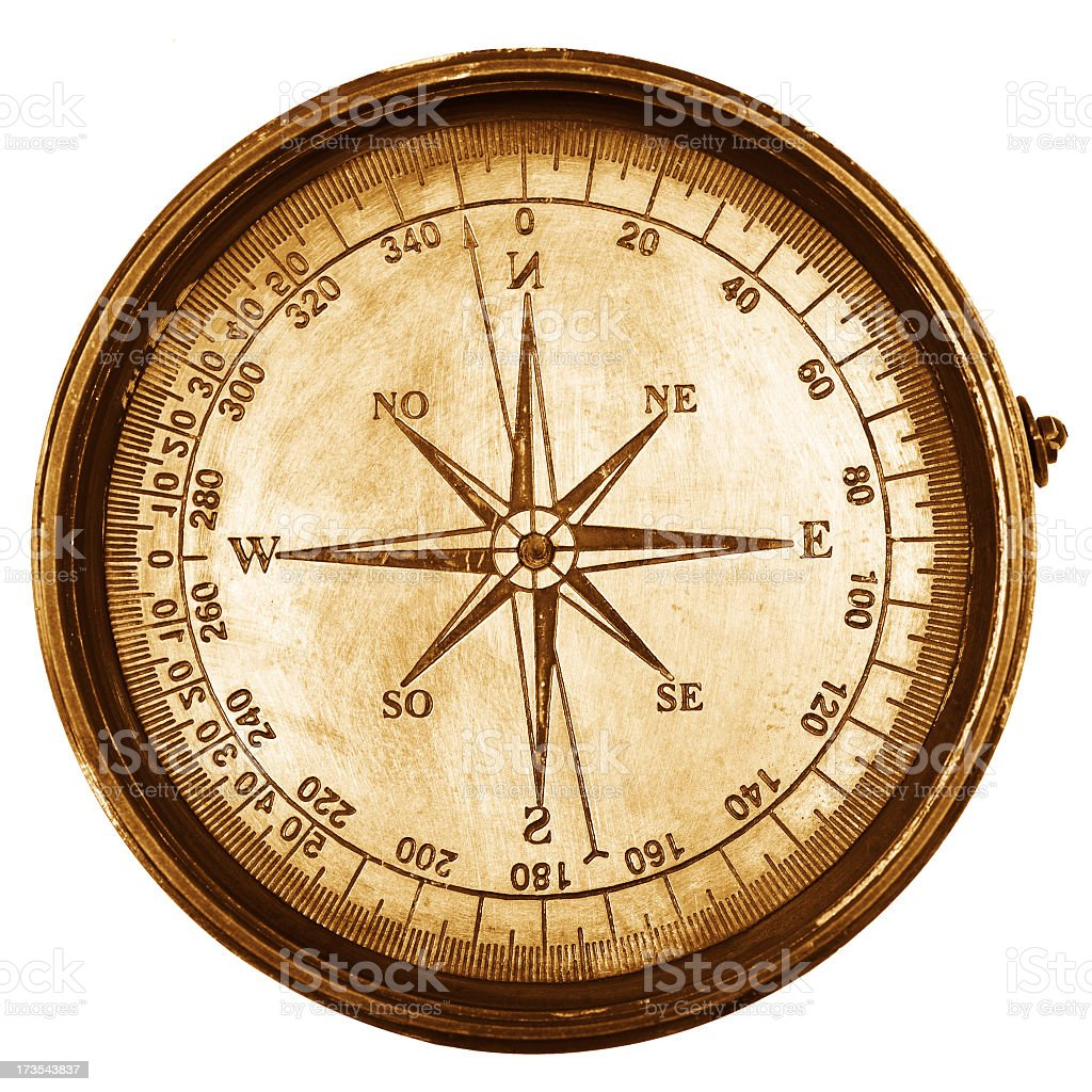 Antique Compass Stock Photo 173543837 Istock