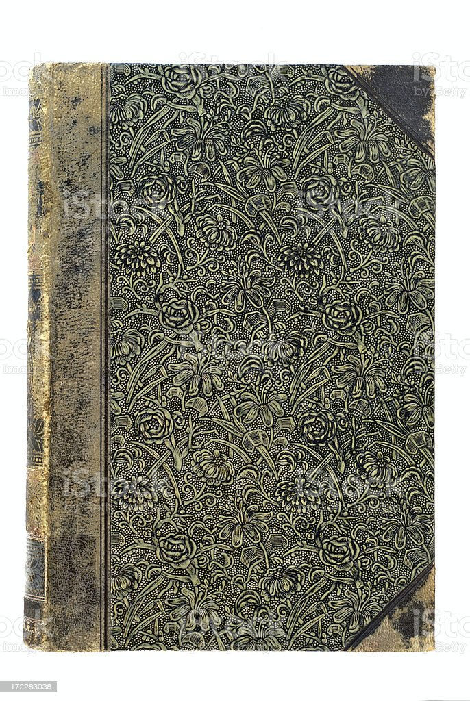 Antique cover, full version royalty-free stock photo