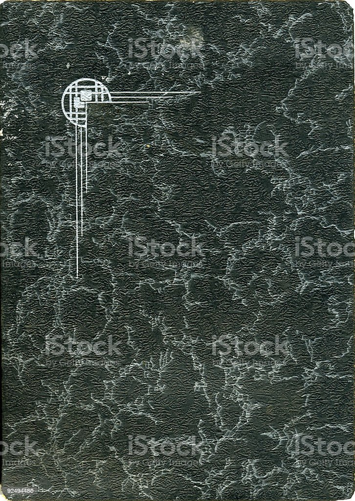 Antique cover with deco royalty-free stock photo