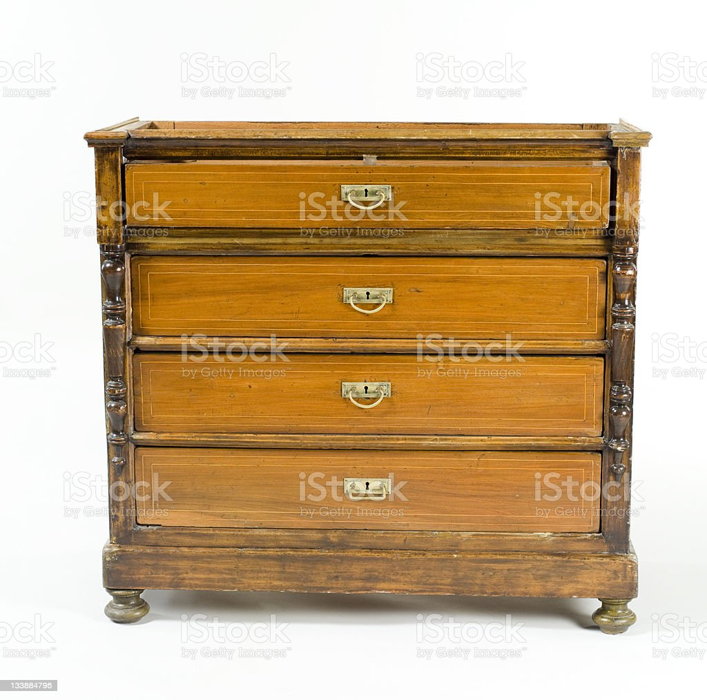 antique cupboard royalty-free stock photo