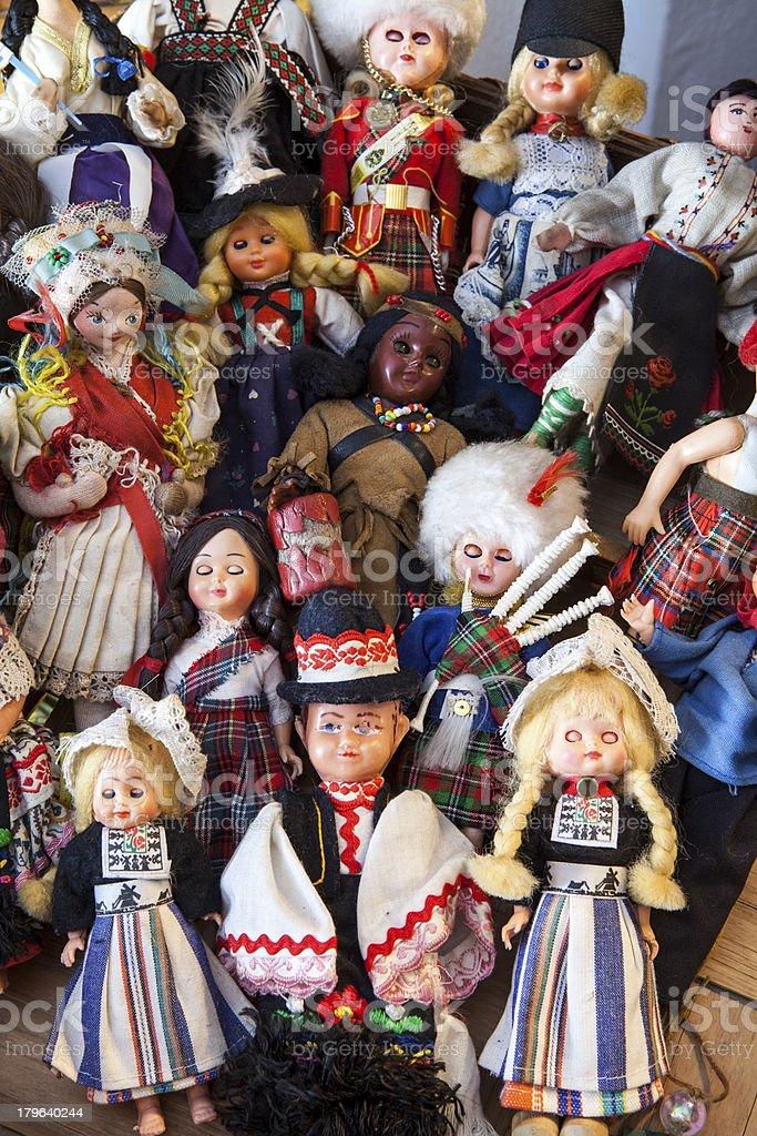 Antique Dolls royalty-free stock photo