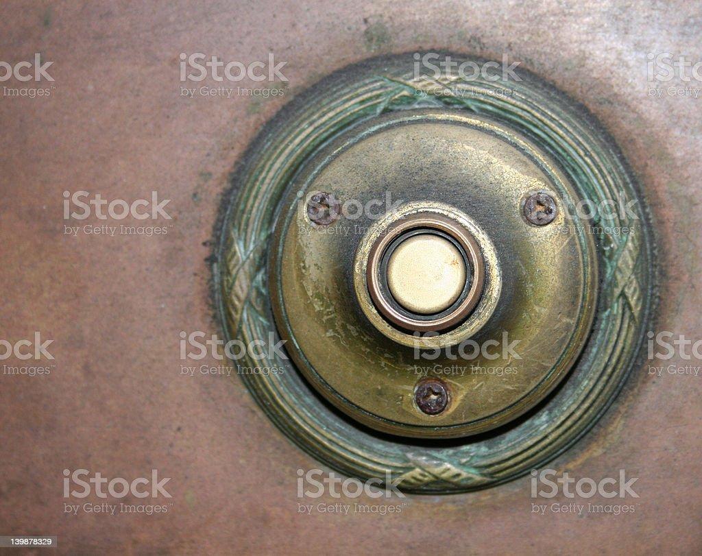 antique door bell 4 royalty-free stock photo