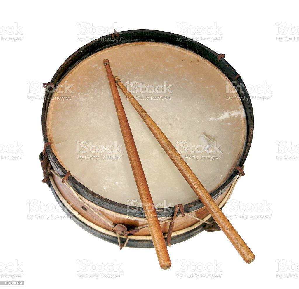 Antique Drum stock photo