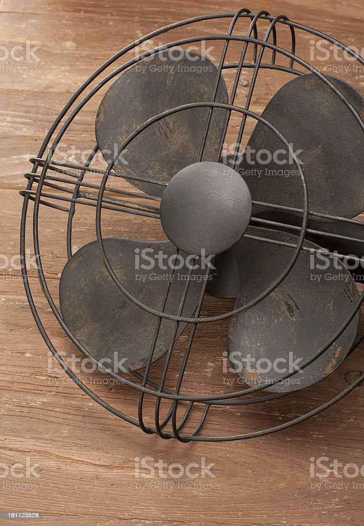 Antique Electric Fan royalty-free stock photo