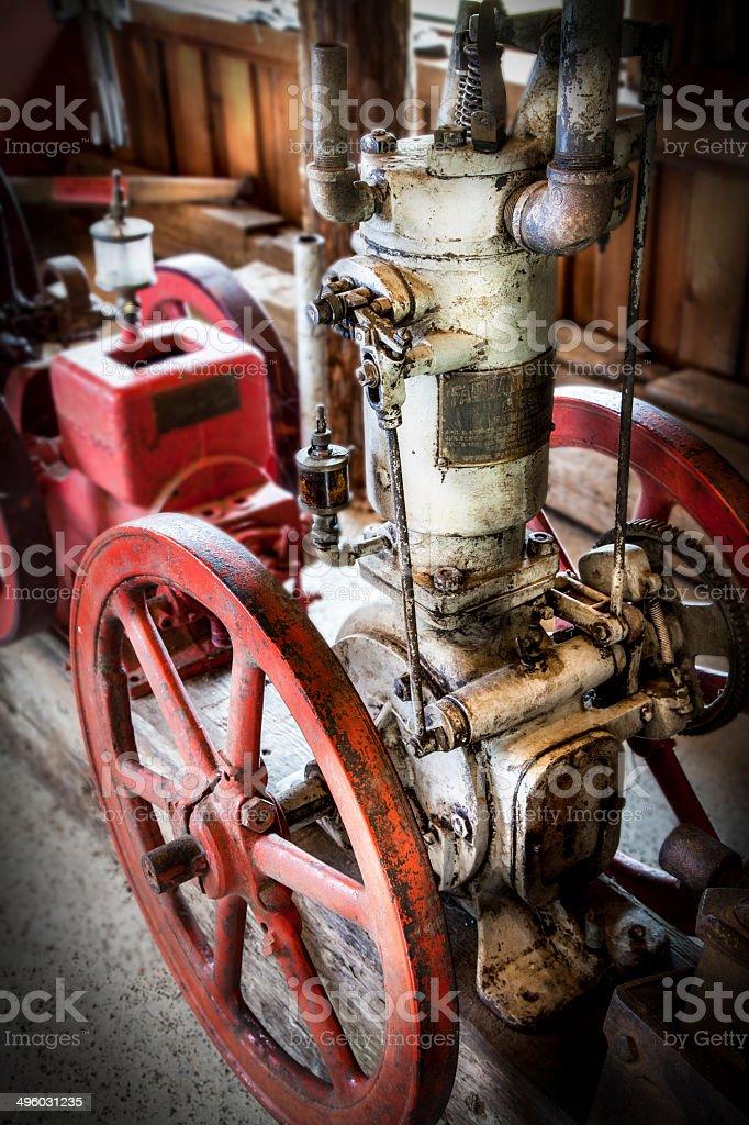 Antique Engine royalty-free stock photo
