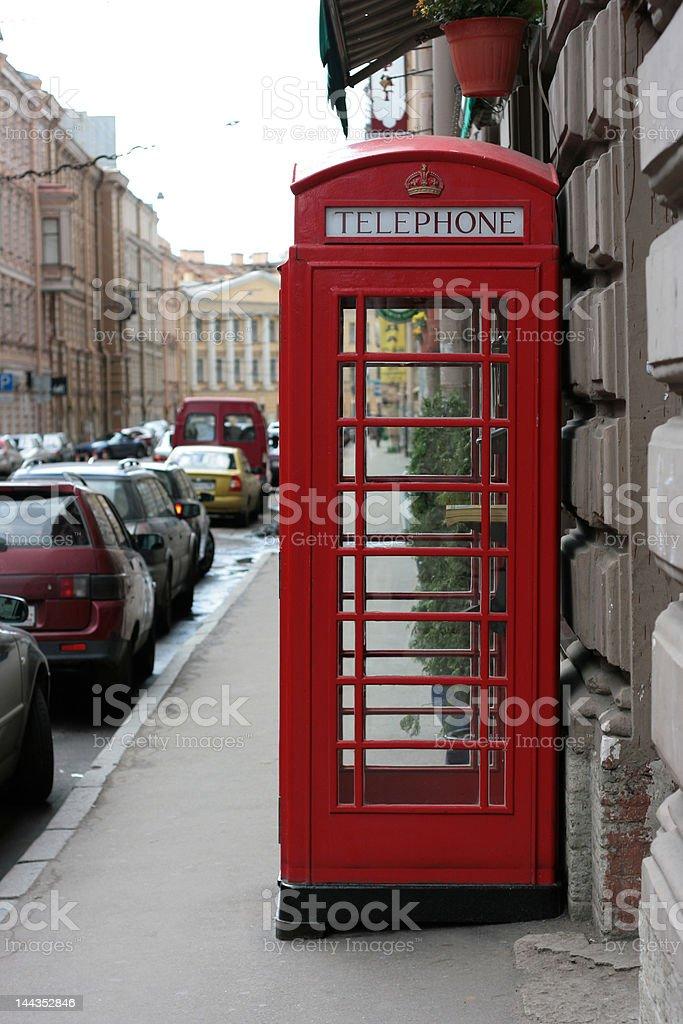 antique english call box royalty-free stock photo