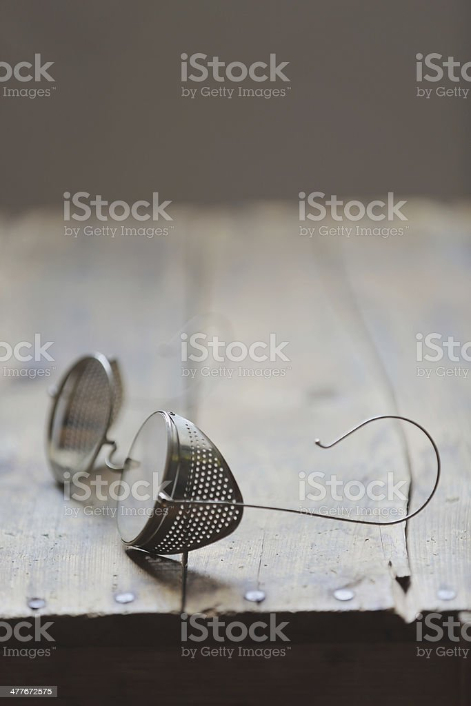 antique eye wear stock photo