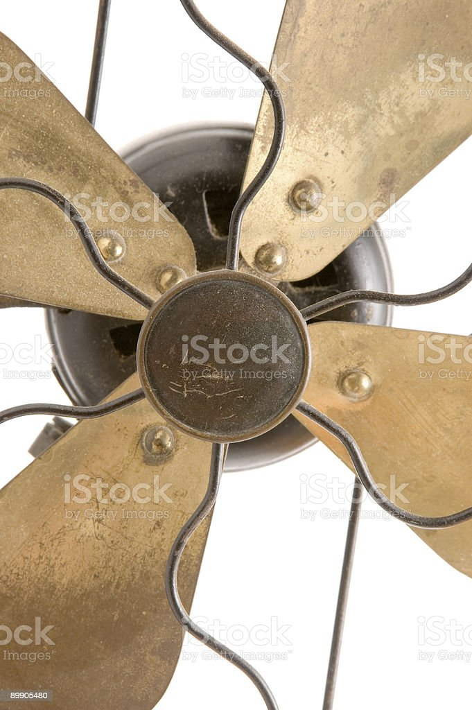 Antique Fan Blades royalty-free stock photo