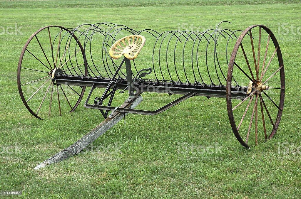 Antique Farm передним углом Стоковые фото Стоковая фотография