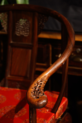 wood, carving,  chair,