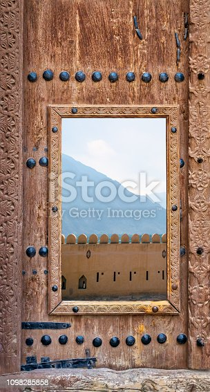 istock Antique Fort Door 1098285858