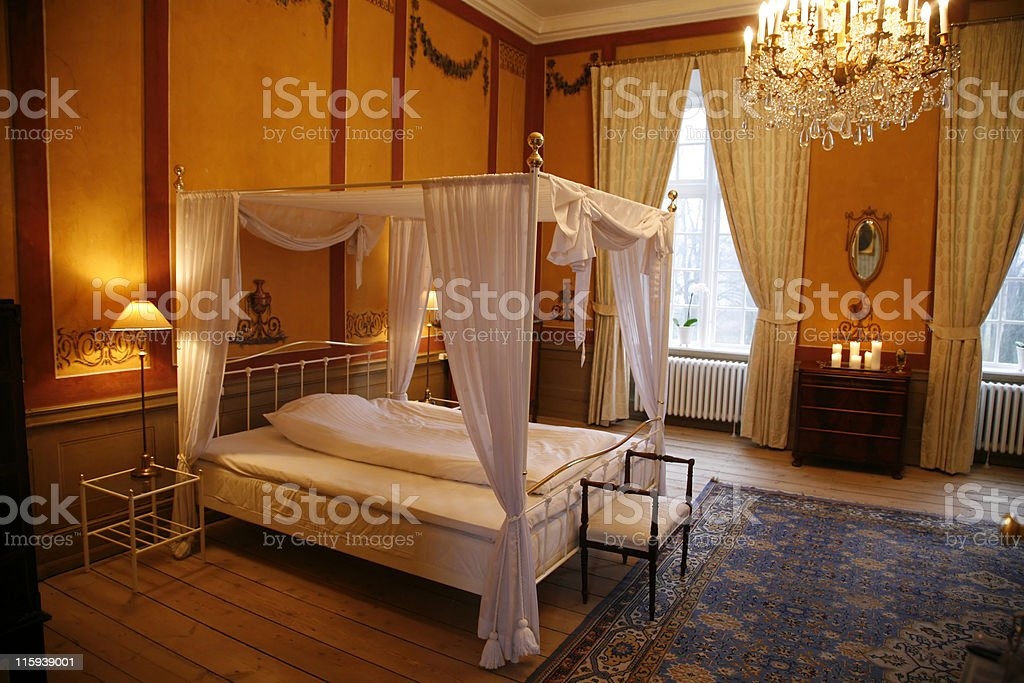 Antique Four poster royalty-free stock photo