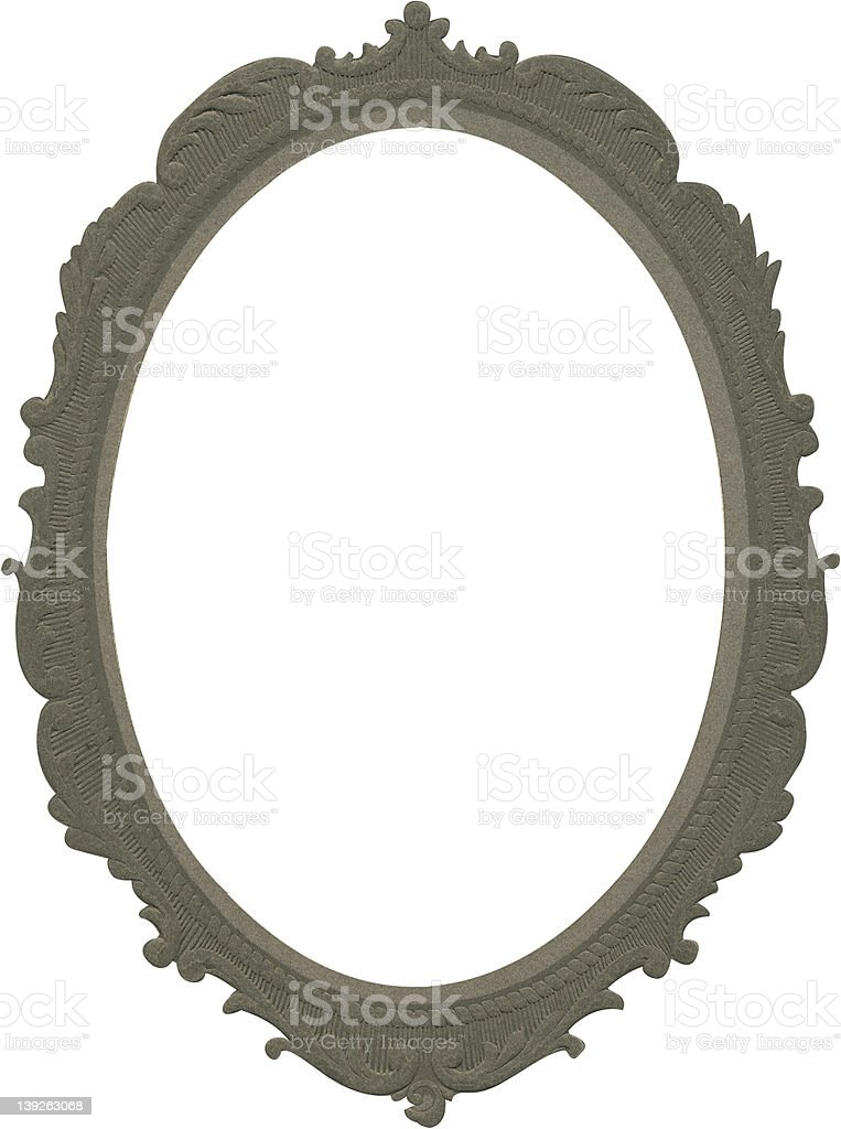 Antique Frame for Picture or Mirror royalty-free stock photo