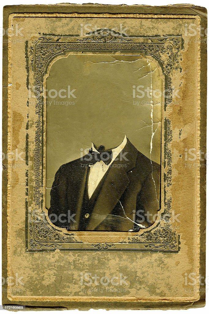 Antique Frame Grunge royalty-free stock photo