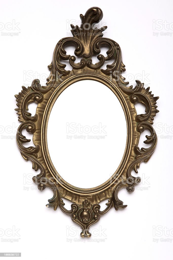 antique frame XXXL royalty-free stock photo