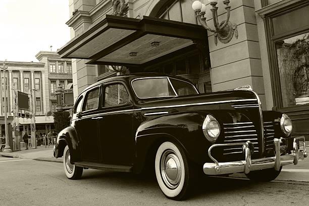 antikes gangster auto - 20er jahre stock-fotos und bilder