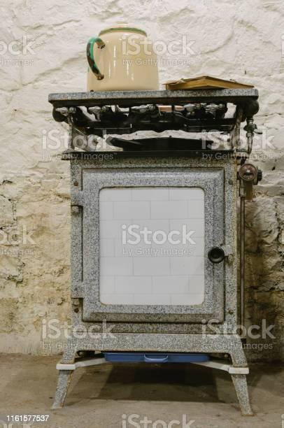 Antique gas oven