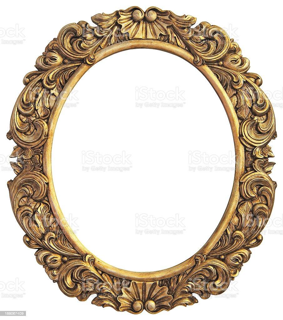 Античный позолоченной оправе - Стоковые фото Антиквариат роялти-фри