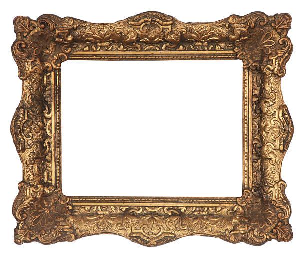 alte gold rahmen - detailliert stock-fotos und bilder