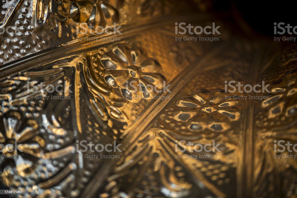 Antique gramophone close up royalty-free stock photo