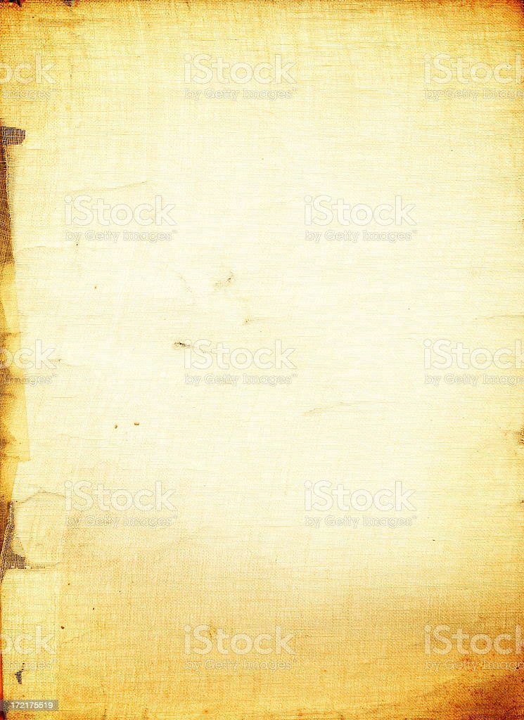 Antique Grunge Book Cover royalty-free stock photo
