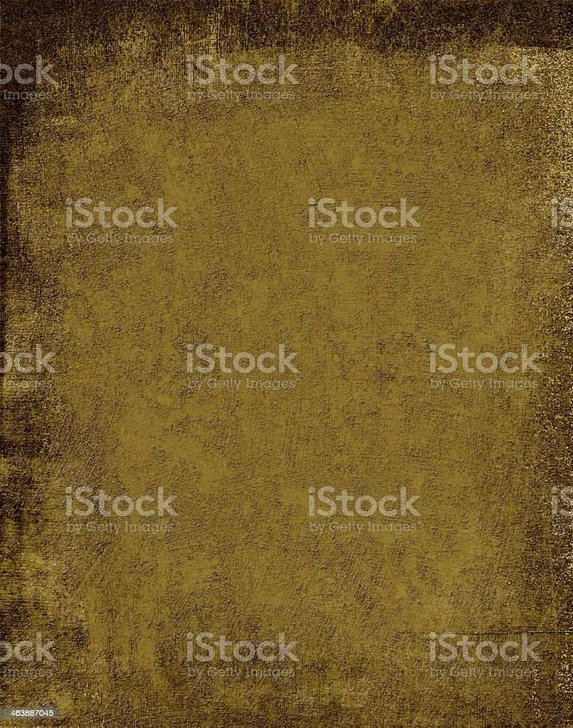 Antique Grungy Gold and Brown background paper XLarge royalty-free stock photo