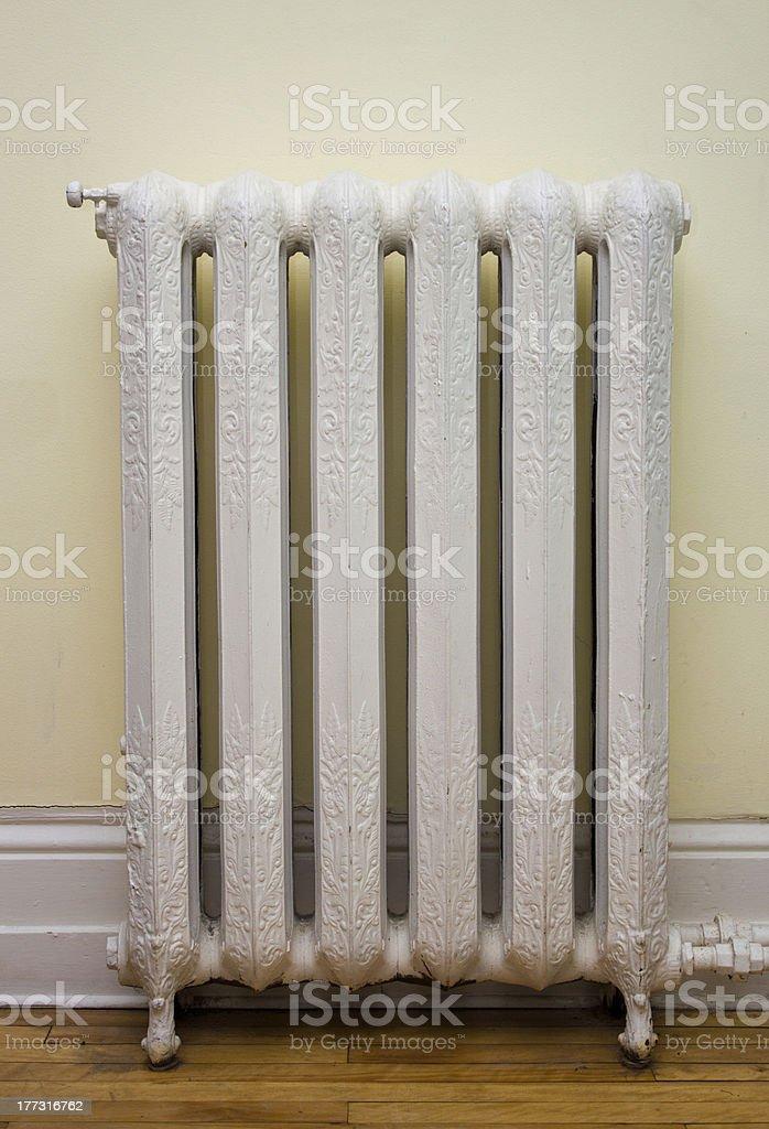 Antique Heat Radiator stock photo