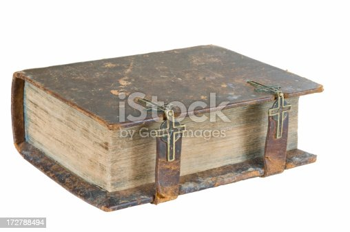 istock Antique holy bible 172788494