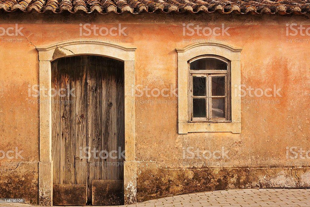 Antique Home Facade royalty-free stock photo