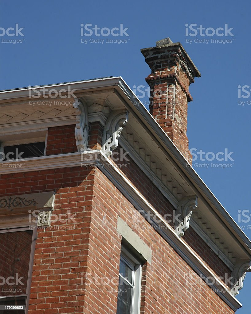 antique house royalty-free stock photo