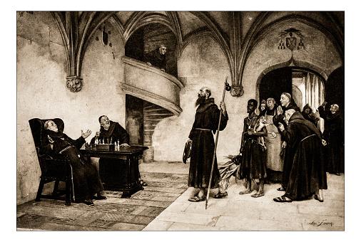 Antique illustration of