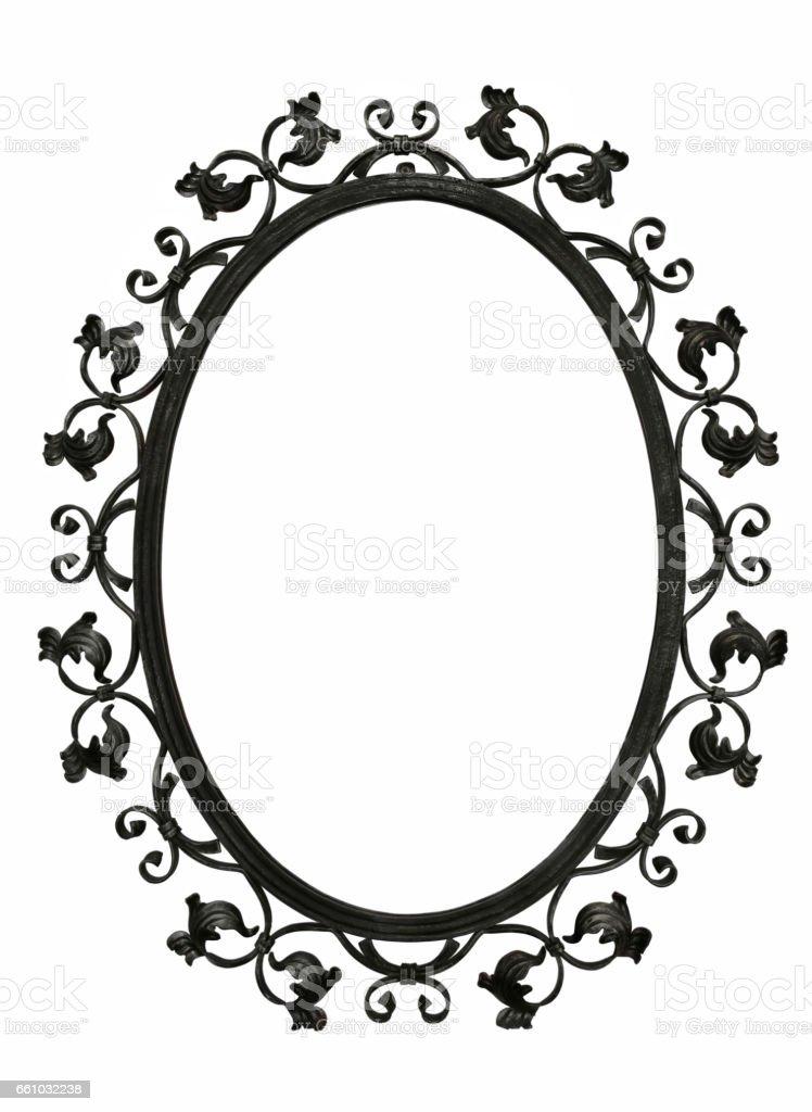 Antik Eisenspiegelrahmen Stock-Fotografie und mehr Bilder von ...