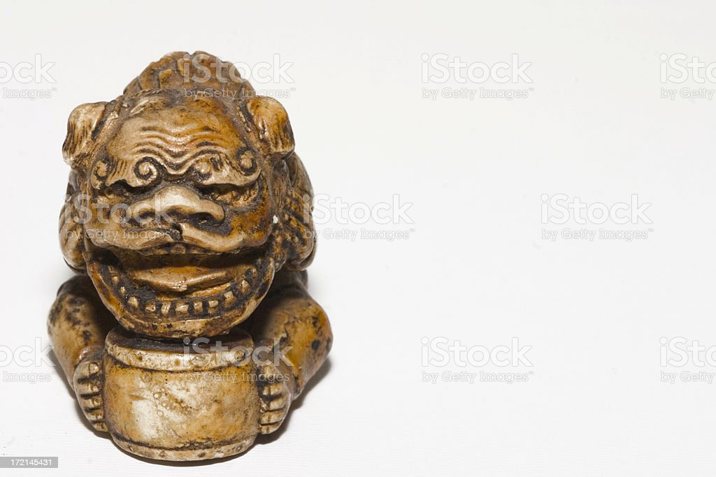 Antique Japanese Dragon royalty-free stock photo