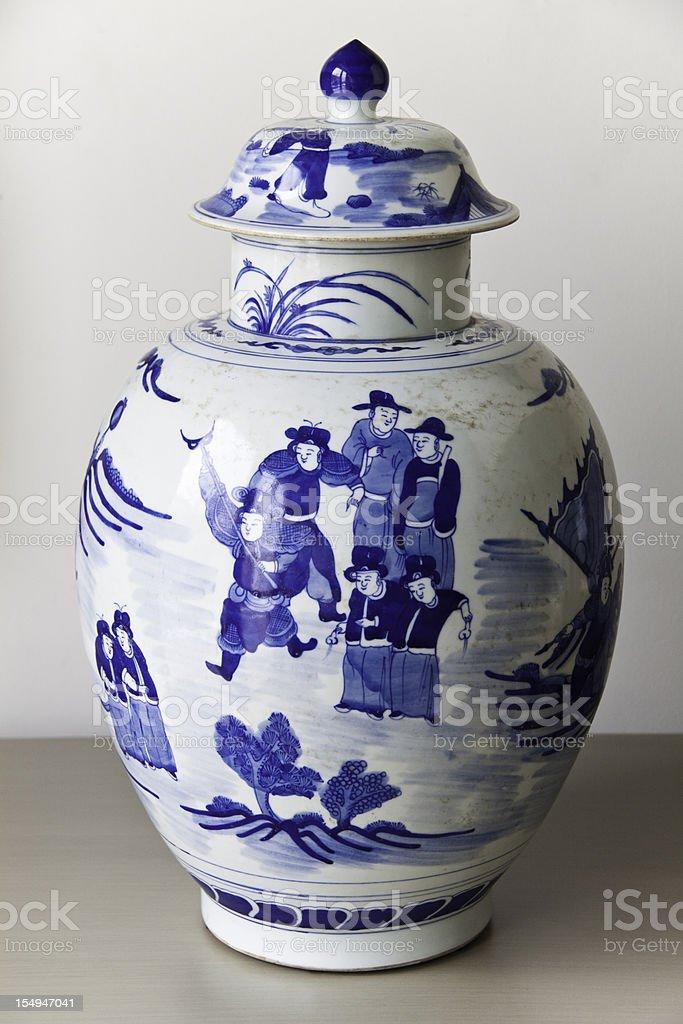 Antique Jar stock photo